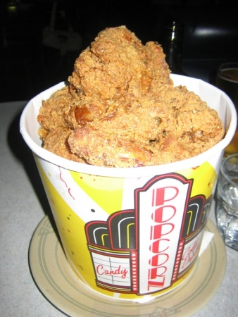 "This gives a whole new meaning to ""popcorn chicken"""