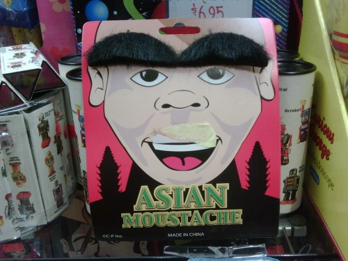 Asian Moustache in Chinatown SF