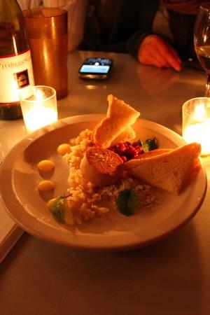 Mission Street Food - Torchon of Foie Gras
