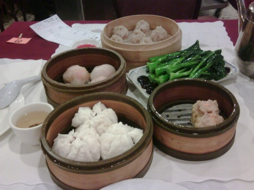 Dim Sum from New Asia in Chinatown