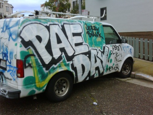 PAE DAY graffiti San Francisco