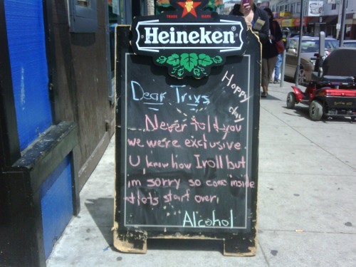 Love Letter to Alcohol