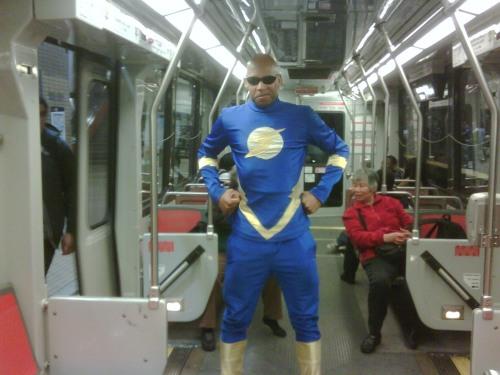 MUNI superhero