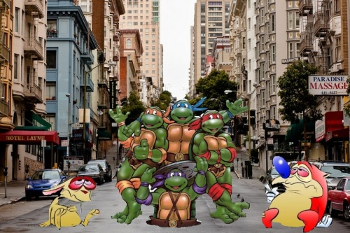 San Francisco Cartoon Characters